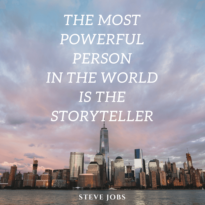 Storytelling Quotes - Steve Jobs