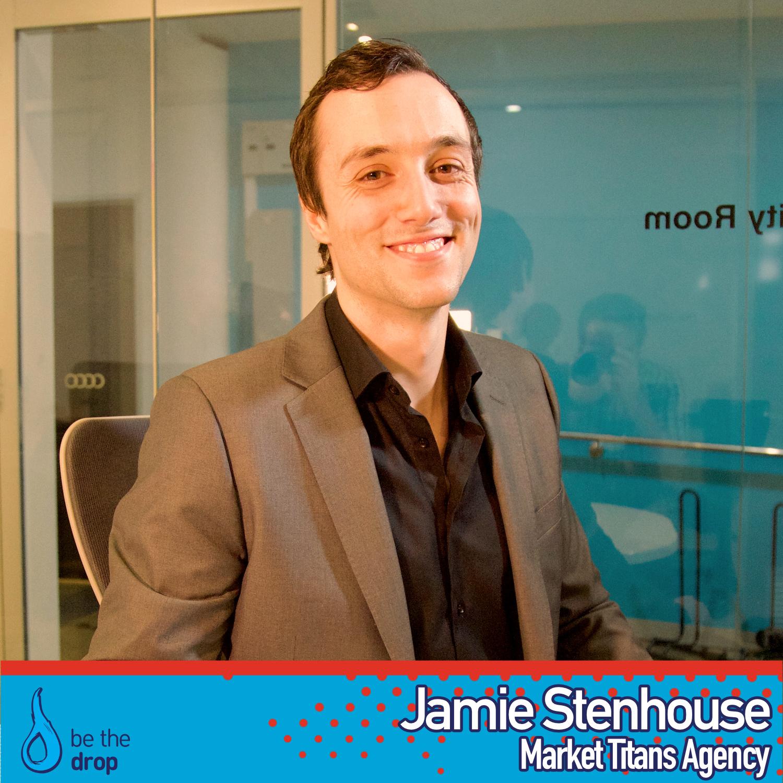 Jamie Stenhouse be-the-drop podcast