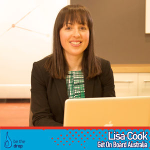 Lisa Cook Get On Board Be The Drop Podcast Interview