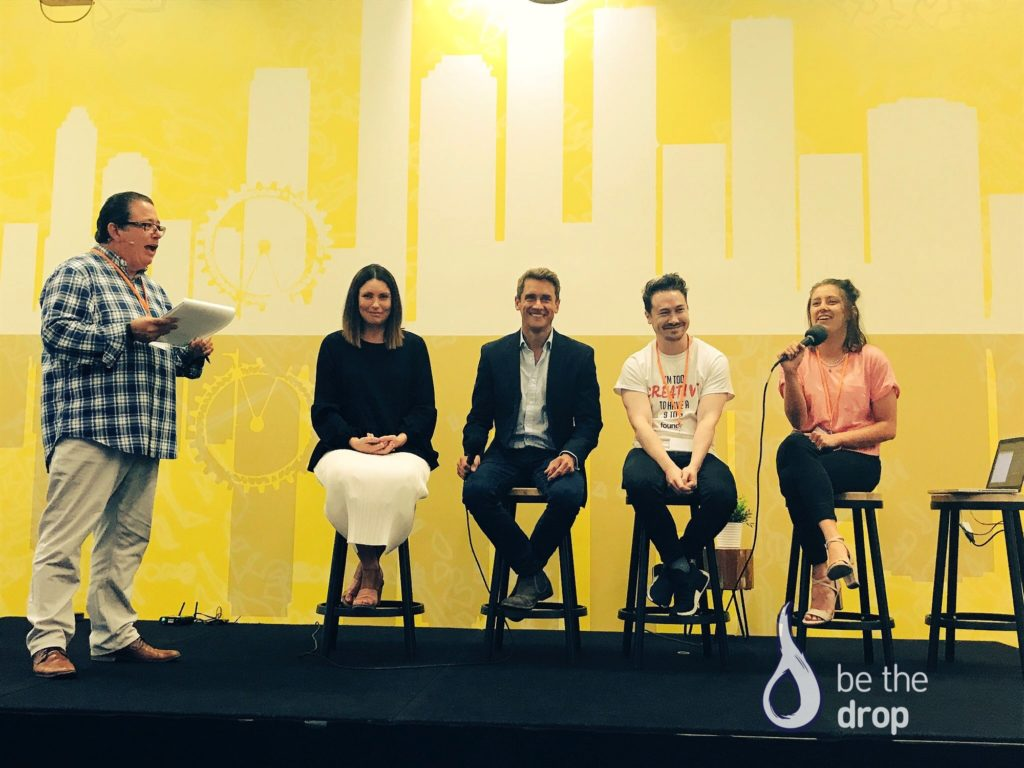 Clarissa Rayward, Adam Franklin, Nathan Chan + Emma Papas Panel Discussion At We Are Podcast
