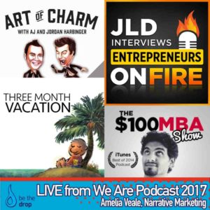 Guest interviews captured LIVE at We Are Podcast 2017