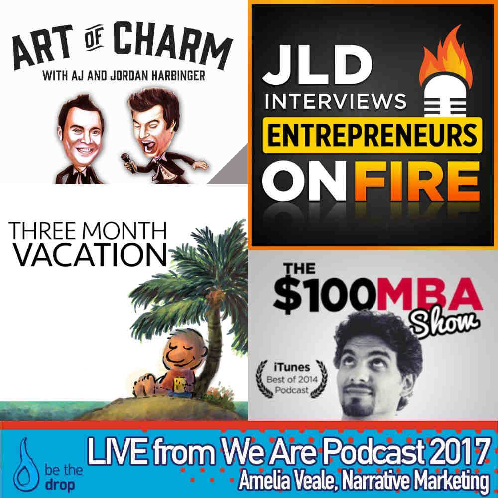 Convince, Convert + Automate – Be The Drop LIVE! @ We Are Podcast 2017