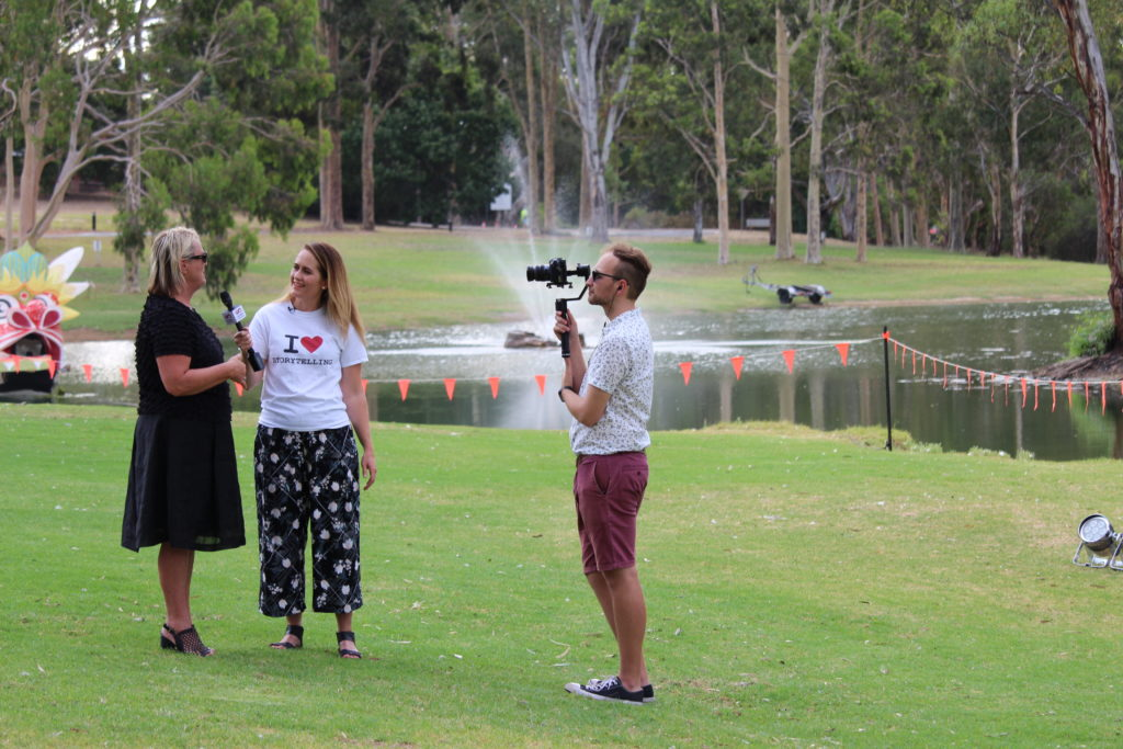 Recording Be The Drop LIVE at Fleurieu Film Festival