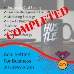 The first of our free business programs is now complete!