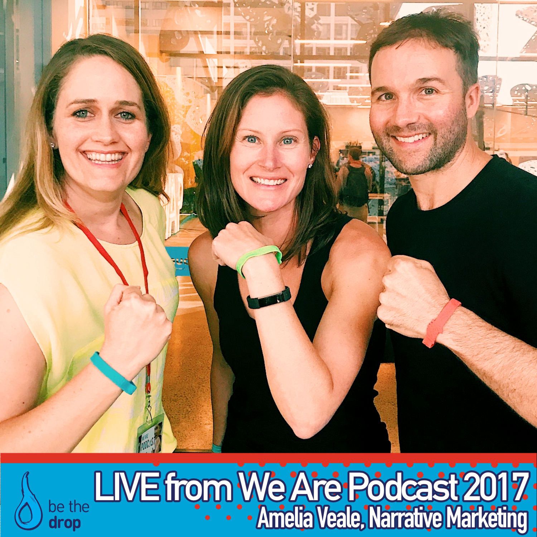 We Are Podcast 2017: Chatting With John Lee Dumas & Kate Erickson of Entrepreneurs On Fire