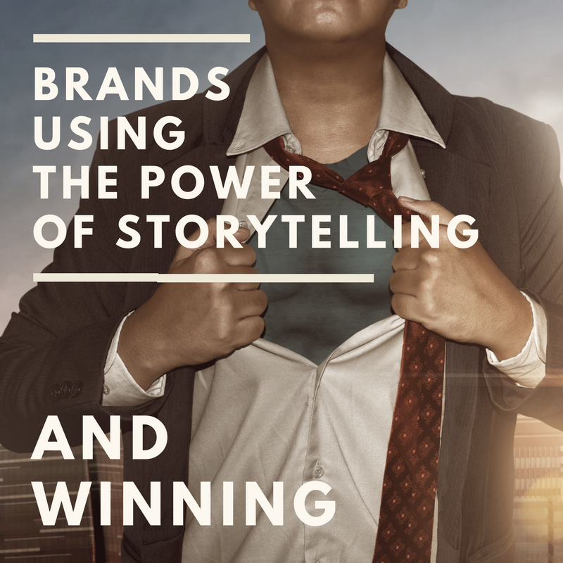 5 Examples of Brands Winning at Marketing with Storytelling [Training]