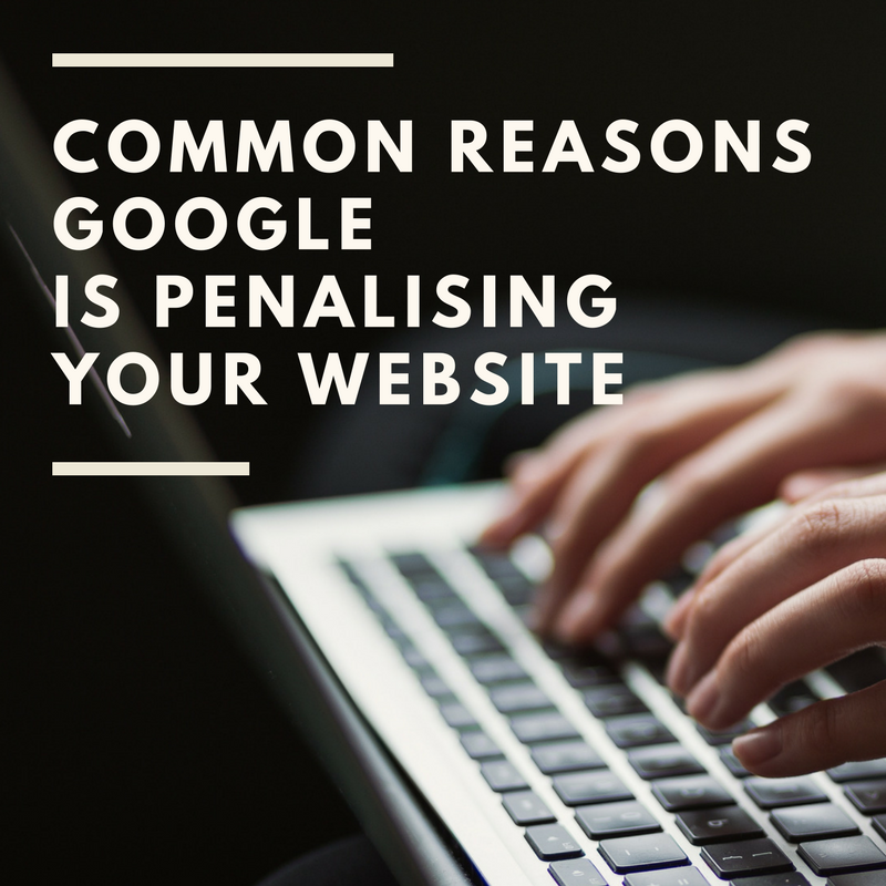 3 Reasons Your Website Isn't Appearing on p1 of Google [Training]