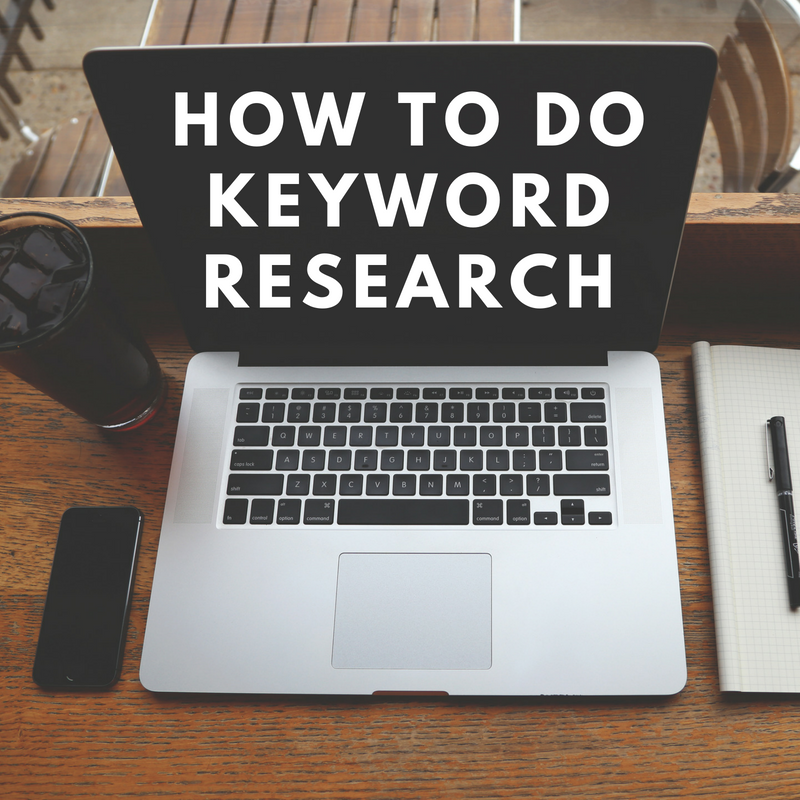How To Do Keyword Research [Training]