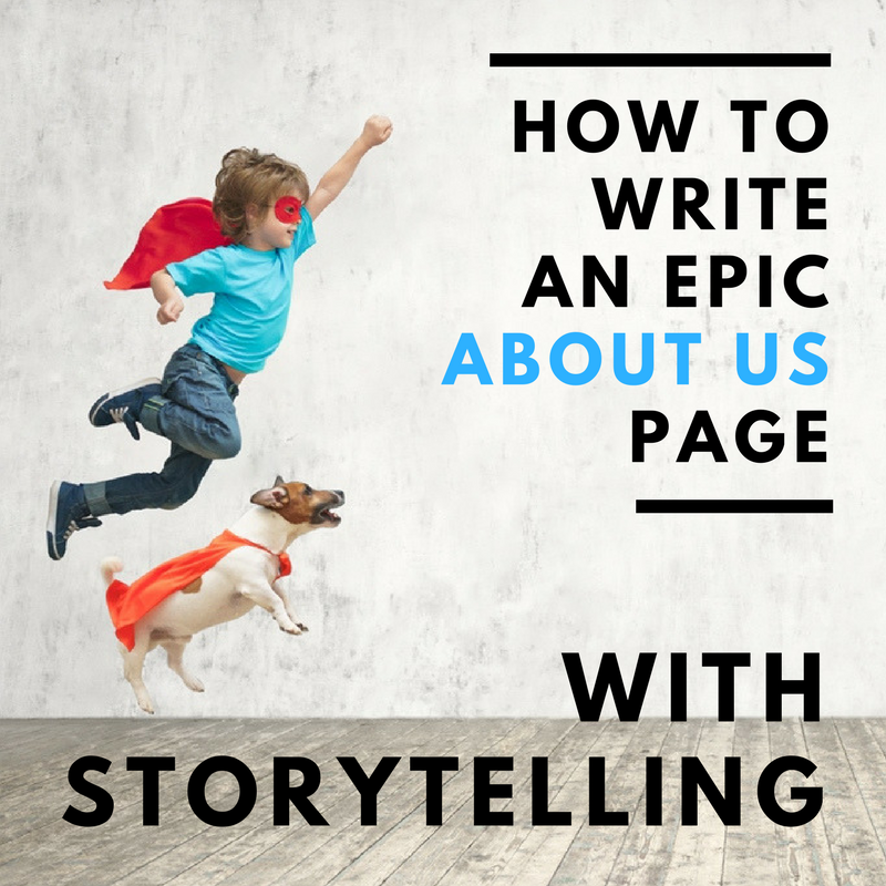 How To Write A Killer About Us Page [Training]