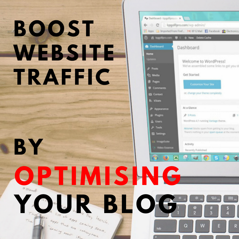 How To Increase Site Traffic Through Optimised Blogging [Training]