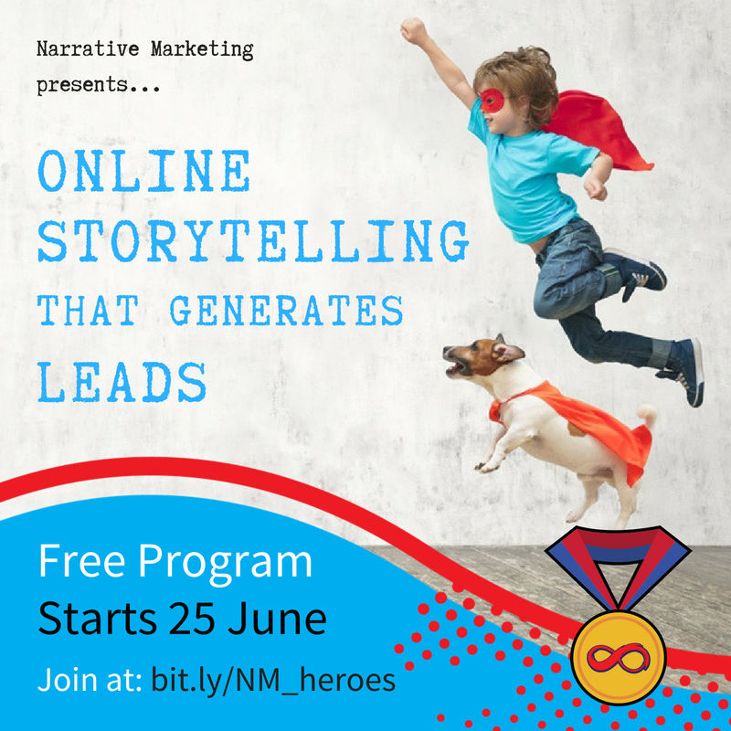 Online Storytelling That Generates Leads [SEO Basics] | FREE Program