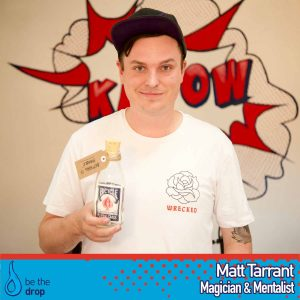 Build a business as a professional magician with Matt Tarrant