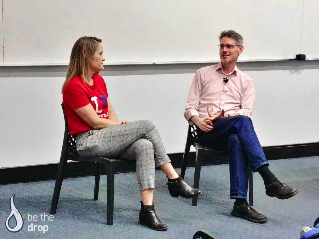 Amelia Veale and James Cridland Talk Podcasting