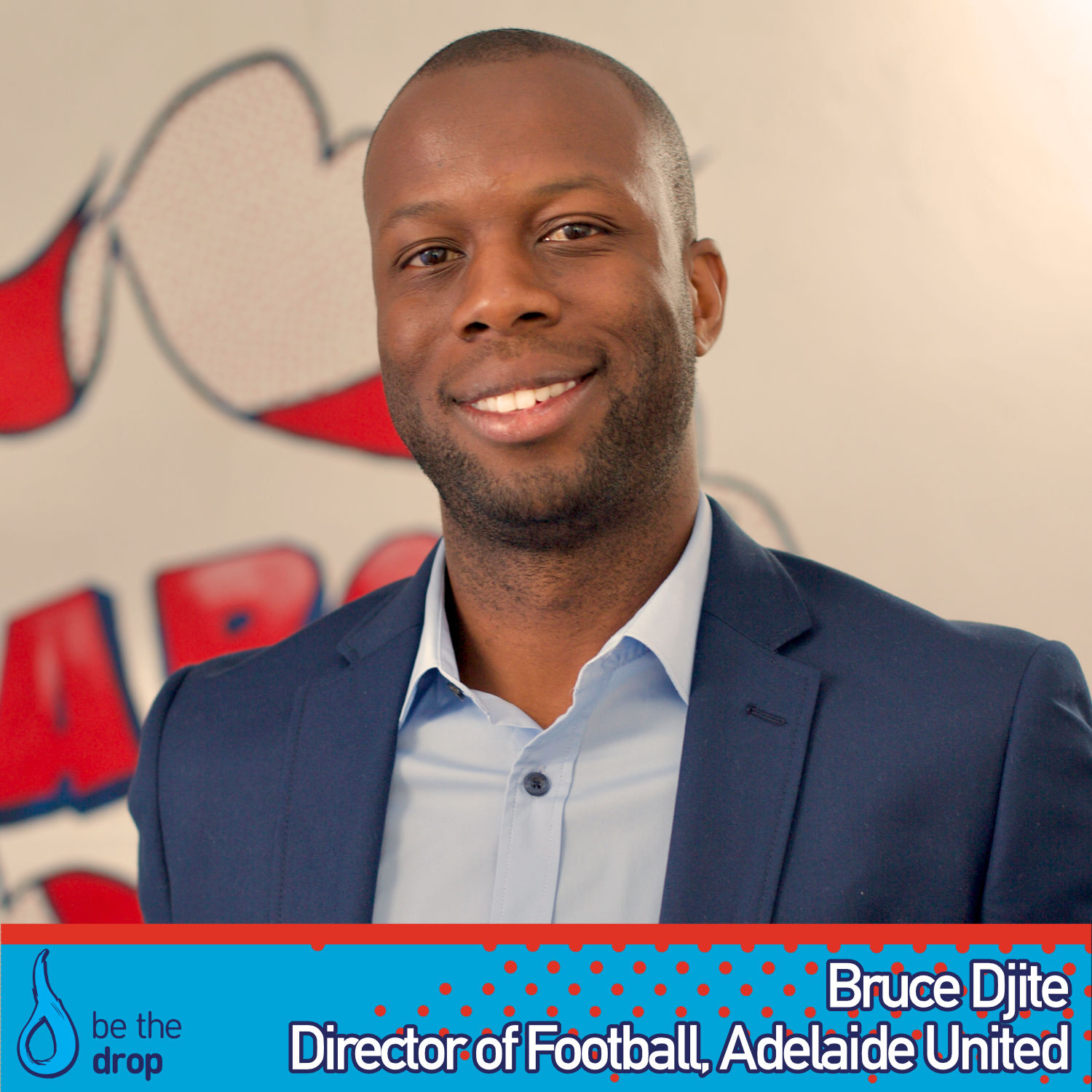 Bruce Djite From Adelaide United Discusses Teamwork