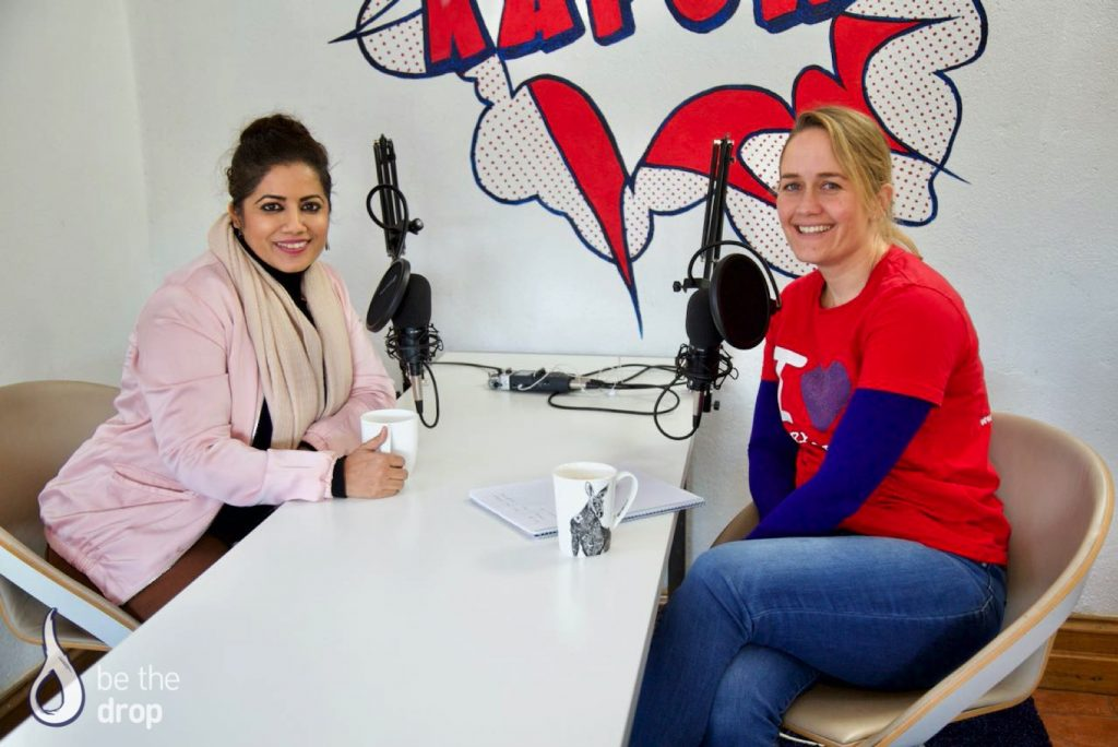 Neha Awashti and Amelia Veale on Be The Drop Podcast