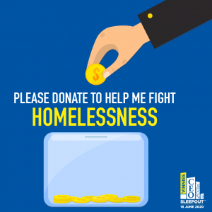 CEO Sleepout Please Donate