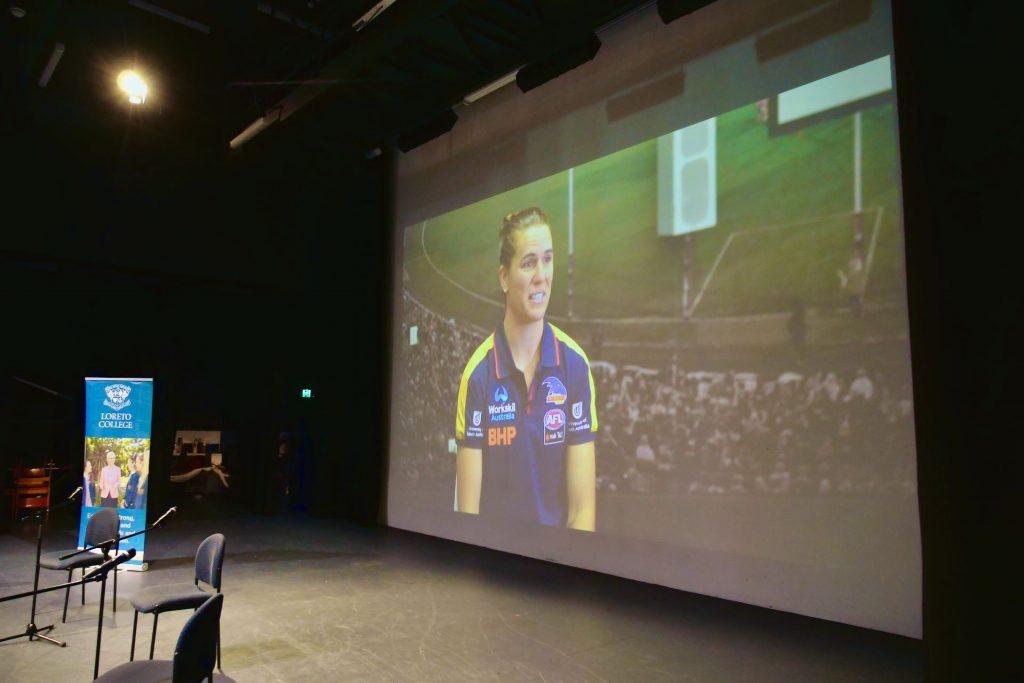Chelsea Randall discusses Women In Sport