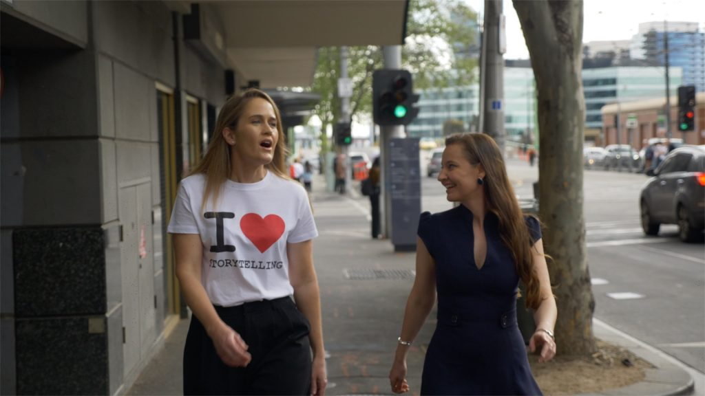 Amelia Veale and Anneli Blundell on Be The Drop Podcast