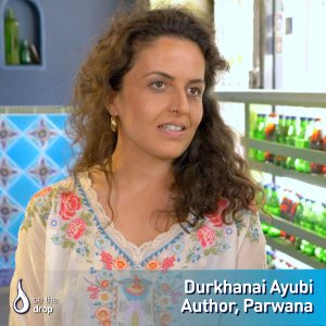 Durkhanai Ayubi discusses humanity through storytelling